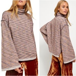 NWT Free People Sunny Days Turtleneck Sweater